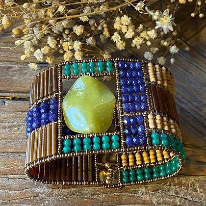 Bracelet Caleidoscopio Jade