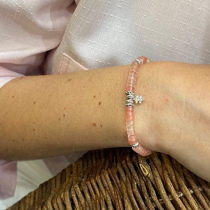 Bracelet Hipanema Matcha Rose