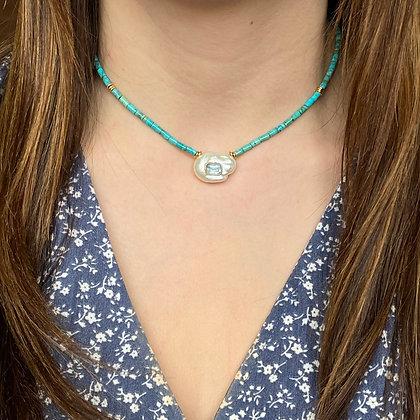 Collier Marassi Azur Turquoise