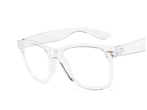 Retro Glasses - Clear