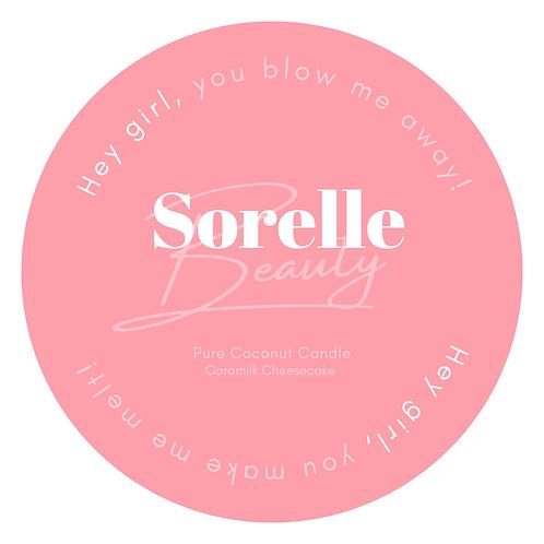 Sorelle Coconut Candle - Caramilk Cheesecake