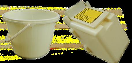 calf pen bucket and box