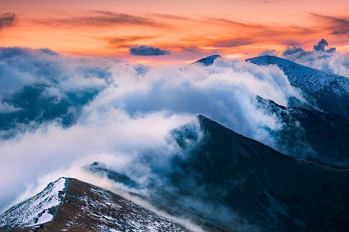 Chmury nad Czubami