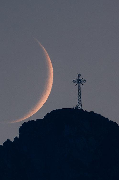 Księżyc za Giewontem