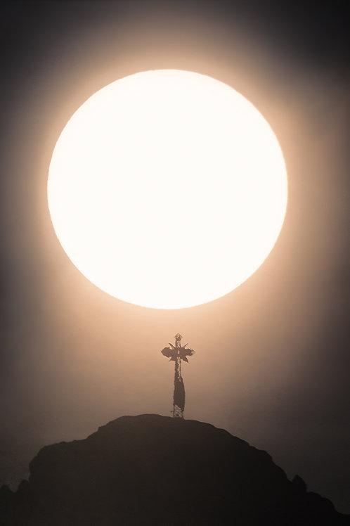 Słońce nad Giewontem