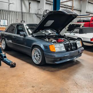 Mercedes at Eds auto