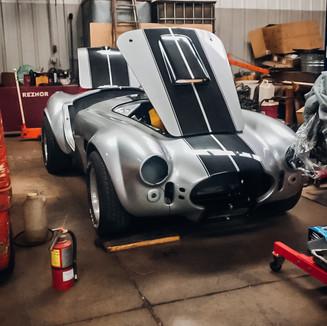 Cobra Restoration at Ed's Auto