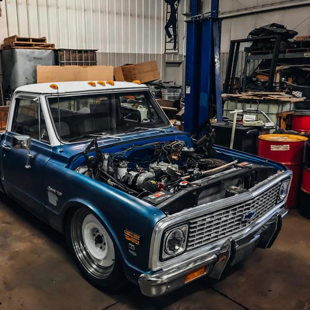Chevy Pickup rebuild