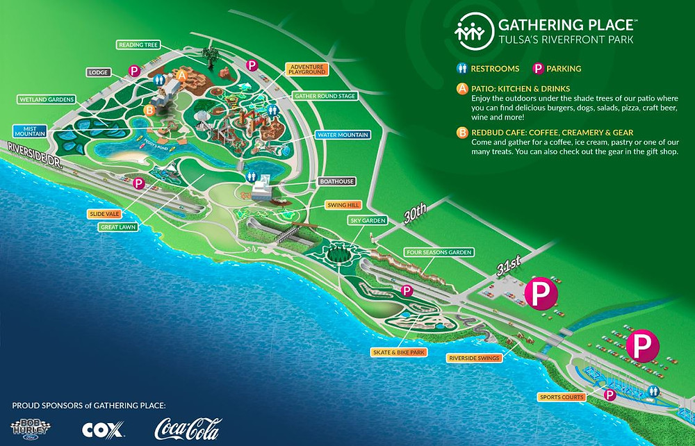 Gathering Place Map