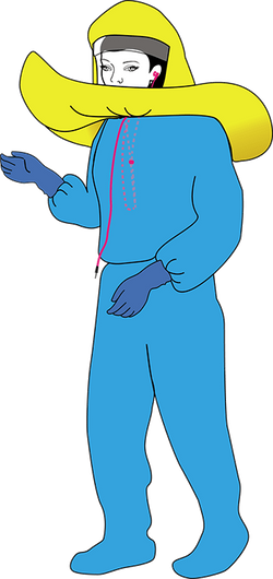 DOFFING - 1. Disconnect Stethoscope