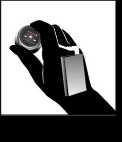 Stethoscope and transmitter