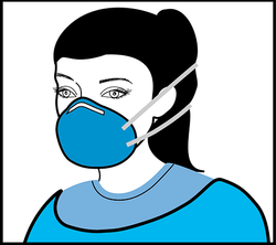 STEP 1. Don the respirator