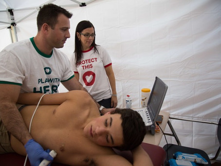 Simon's Heart Beats On: Foundation Screens Young Athletes for Sudden Cardiac Arrest