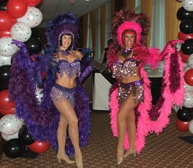 Las Vegas Style Showgirls for your Convention Casino Party