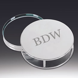 Concealed Silver Magnifier