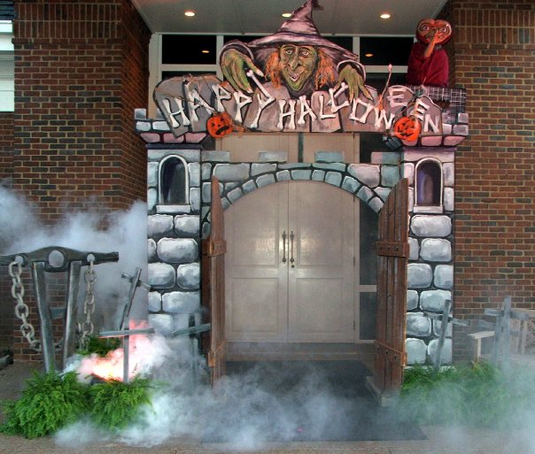 Halloween Themed Event Entrance Decor