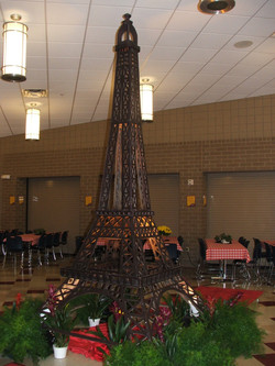 Paris Themed Event Decor
