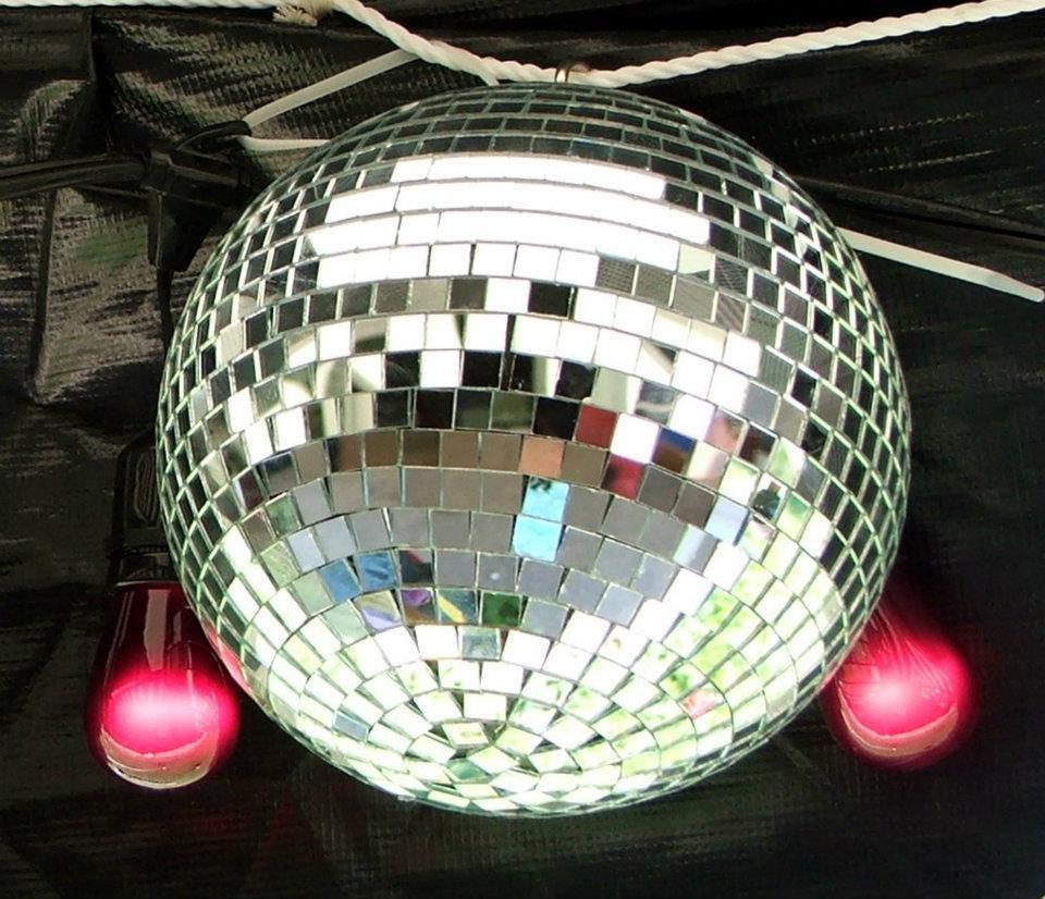 Disco Themed Event Decor