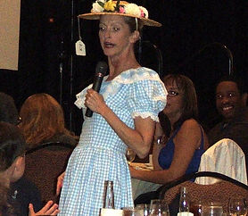 Minnie Pearl Character at a Nashville Convention Event