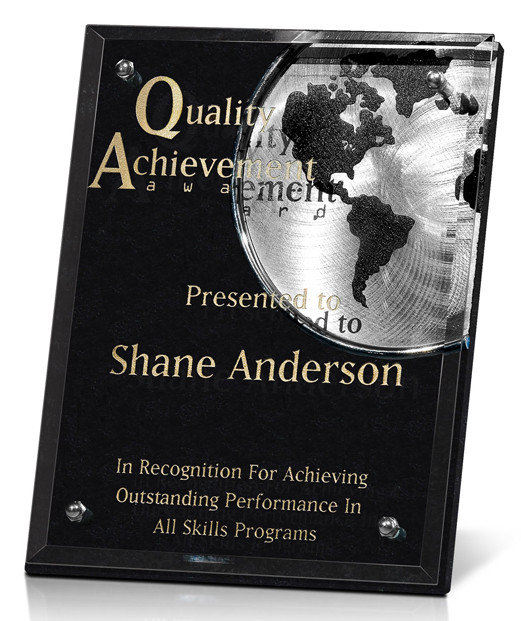 Achievement Plaque from Awards Nashville