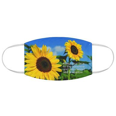 Fabric Face Mask (Sunflowers)