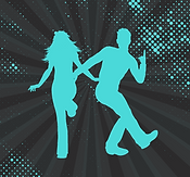 Disco Couple dancing