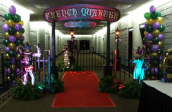 Mardi Gras Themed Event Decor