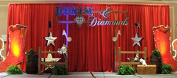 Country Glitz Themed Decor