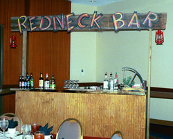 Redneck Bar at a Corporate Event