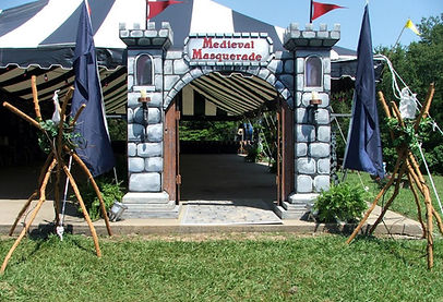 Medieval Themed Event Deco