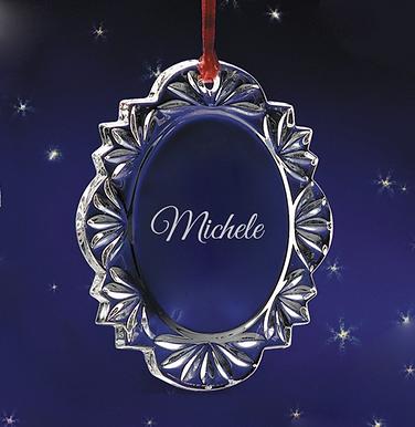 Personalized Decorative Ornament