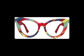Multi-Color Kid's Cat Eye Glasses