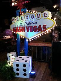Casino Themed Event Decor
