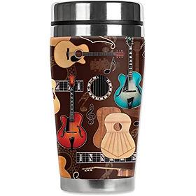 Guitars Tall Travel Mug