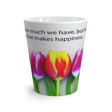 Latte Mug (Tulips)