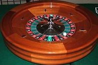 Nashville Casino Party Roulette Wheel