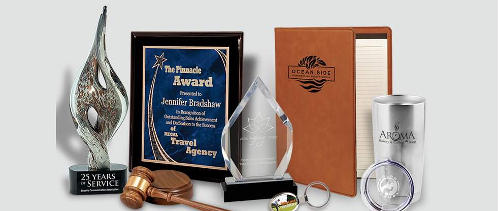 Corporate Gifts, Engraved Awards, and Plaques