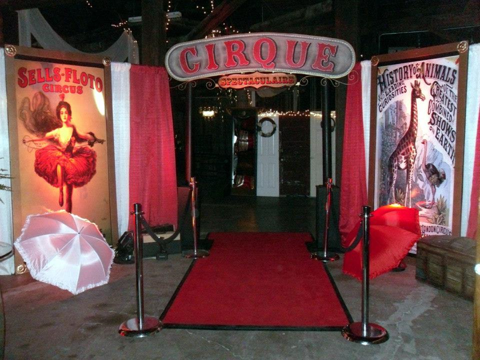 Circus Themed Event Decor