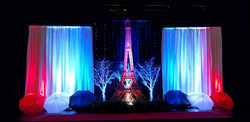 Paris-Themed-Event-Stage-Decor-Eiffel-Tower