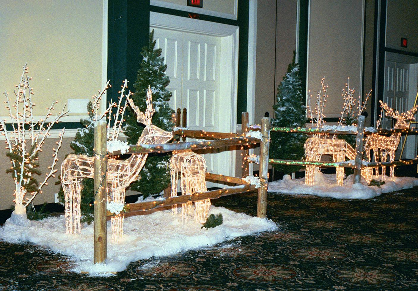 Holiday Entrance Decor