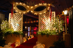 Masquerade Themed Event Decor