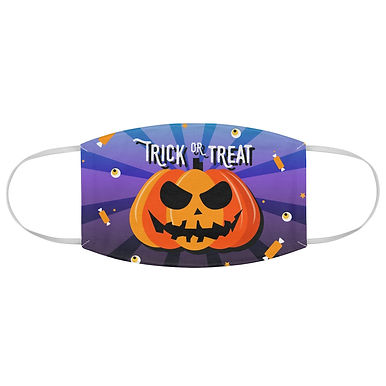 Fabric Face Mask (Pumpkin Trick or Treat 167)