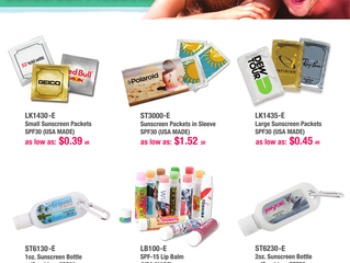 Spring and Summer Promotional Products