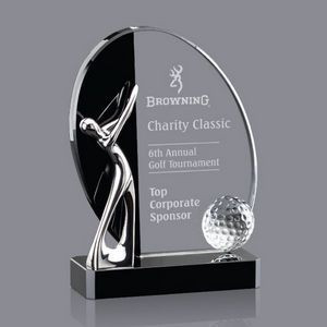 Metal and Glass Golf Award - Catalog Link