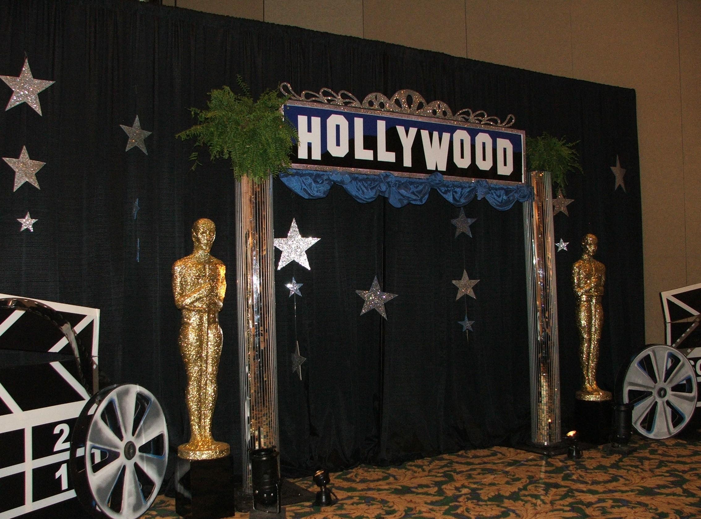 Hollywood Themed Decor