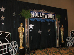 Hollywood Themed Decor