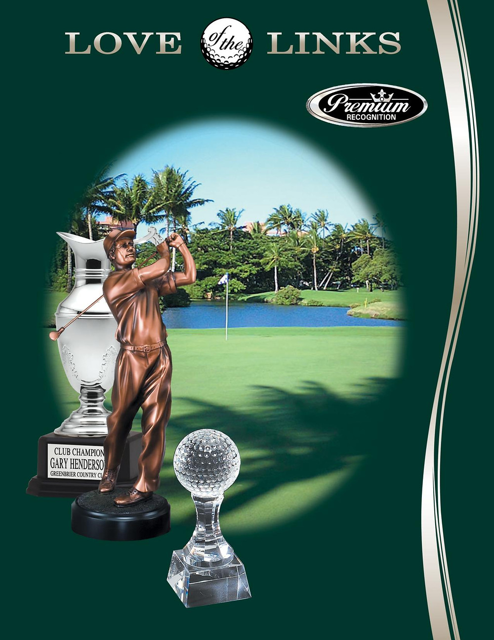 Golf and Tournament Awards Catalog Link