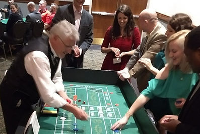 Nashville Casino Party - Craps Table