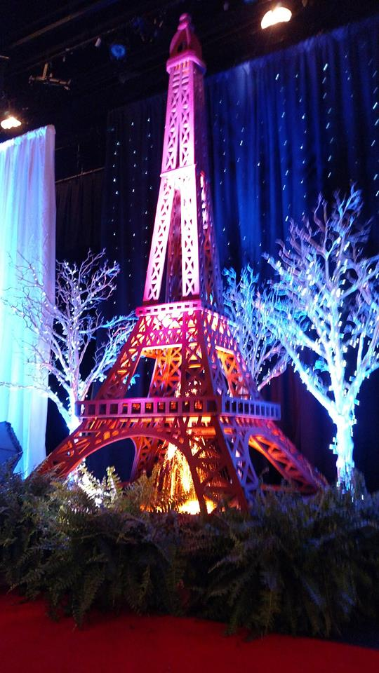Paris Themed Event