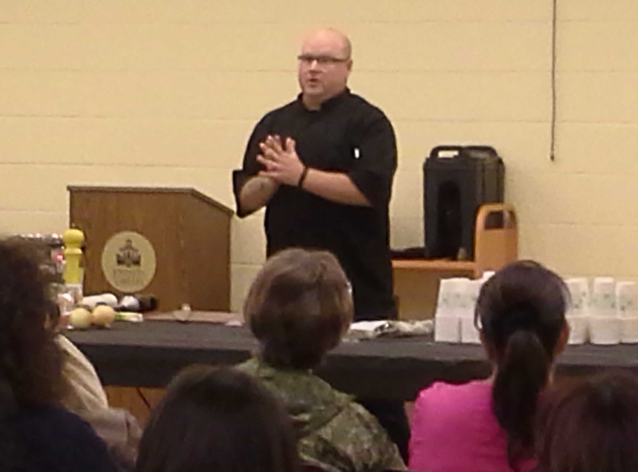 Chef Dan diabetes cooking demo